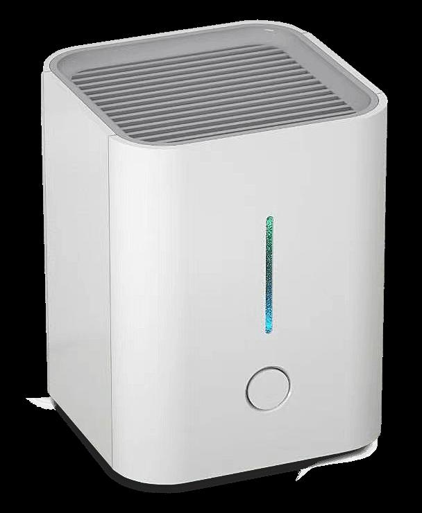 Desktop Luftreiniger für den Schreibtisch und Büroalltag